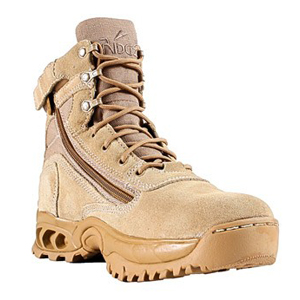 Ridge Men's Storm Desert Tan Zipper Mid Height Boot 3003Z