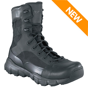 Reebok RB8827 Men's Dauntless Side Zip 8in Tactical Boot w Seamless Construction