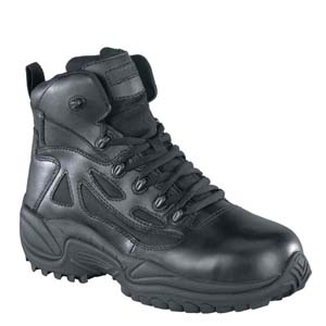 Reebok RB8674 Men's Rapid Response Comp Toe Side Zip 6in Duty Boot