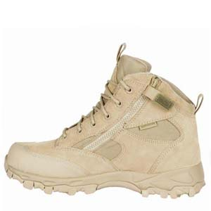 Blackhawk Warrior Wear ZW5 5in Tan Side Zip Boots