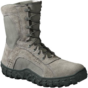 Rocky S2V USAF Steel Toe Sage Green Military Boot (6108)