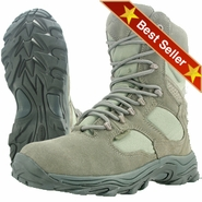 Wellco S481 Sage Green Side Zip Composite Toe Combat & Tactical Boot