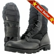 Wellco B320 Black Jungle Hot Weather Combat Boot