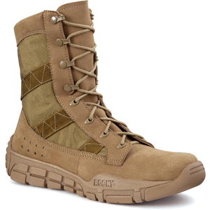 Rocky C4T USMC Trainer Coyote Tan Military Boot (1074)
