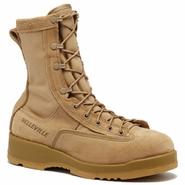 Belleville F790 Women�s Tan Waterproof Tan Combat & Flight Boot