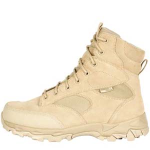 Blackhawk Warrior Wear ZW7 7in Tan Side Zip Boots
