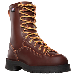 Danner 10600 Rain Forest 8in Brown Plain Toe Work Boot