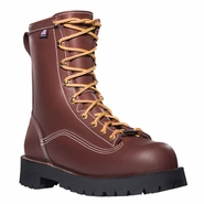 Danner 11560 Super Rain Forest Brown Plain Toe Work Boot