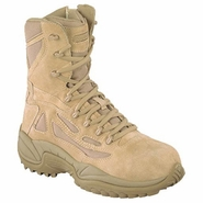 Reebok RB8895 Men's Rapid Response Side Zip Desert Tan Boot