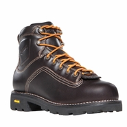 Danner 14545 Quarry 6in Plain Toe Brown Work Boot