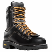 Danner 14546 Quarry Alloy Toe Black Work Boot