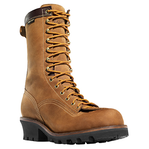 Danner 14573 Quarry Logger Plain Toe Work Boot