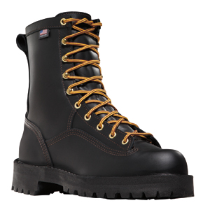Danner 15100 Rain Forest Mens 200G Plain Toe Work Boot