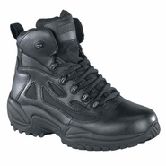 Reebok RB864 Women's Rapid Response Composite Toe Side Zip 6in Black Boot