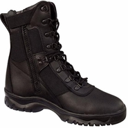Rothco 5053 Forced Entry Side Zipper 8inch Black Tactical Boot