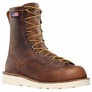Danner 15556 Bull Run 8in Brown Cristy Plain Toe Work Boot