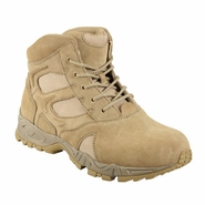 Rothco 5368 Forced Entry Desert Tan 6in Deployment Boot