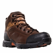 Danner 17601 Corvallis GTX Waterproof Plain Toe Work Boots Brown