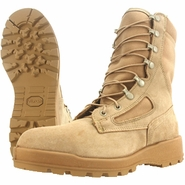 Wellco T115 Tan Temperate Weather Steel Toe Combat Boot