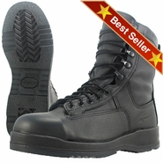 Wellco B251 Black Navy Flight Deck Temperate Weather Steel Toe Boot