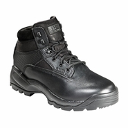 "5.11 Womens ATAC 6"" Side Zip Black Tactical Boot"