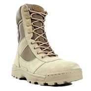 Ridge Men's Dura Max Desert Tan 8in Zipper Military Boot 3105