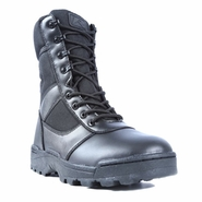 Ridge Men's Dura Max Black Side Zip Tactical Uniform Boot 4105