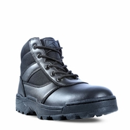 Ridge Men's Dura Max Black Mid Zipper Tactical Uniform Boot 4205