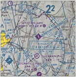 VFR Chart of 44N