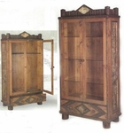 Old Hickory Adirondack Sportsman's Cabinet