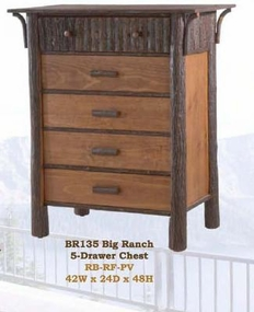 Big Ranch 5-Drawer Chest