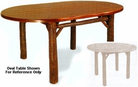 """48"""" Old Faithful Dining Room Table - Round"""