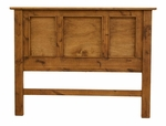 Headboard - Rustic Alder Panel Bed