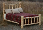 Mountain Log Bed