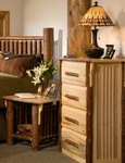 Mission Mountain Four Drawer Dresser