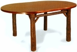 "42"" x 84"" Old Faithful Dining Room Table - Oval"
