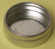 BMFRB3-SET --> Industrial Round Flad Seamless Tin Sets, 3 oz.