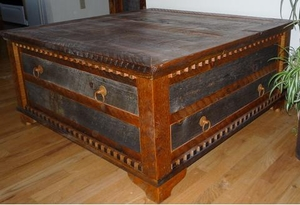 Country Roads Conference Coffee Table Lodge Craft