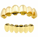 Gold Plated Best Grillz Set