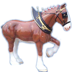 Lifesize Clydesdale