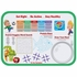 "Red and green Childrens My Plate 15"" x 20"" Traymats sold in quantities of 250 / pkg, 2 pkgs / case."