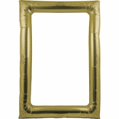Gold Balloon Frames 6 ct