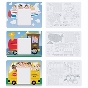 Kids Menu Multipack Placemats 1,002 ct