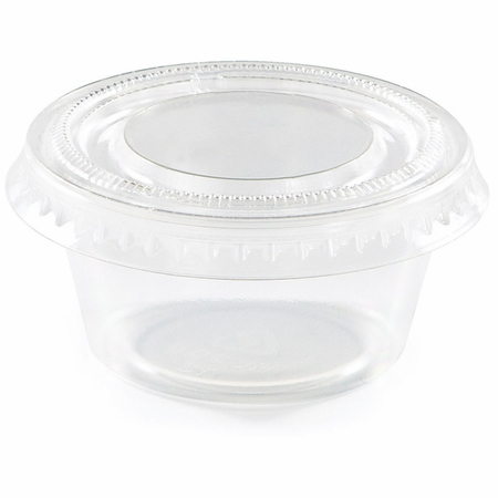 2 oz Clear Portion Cups with Lids 288 ct