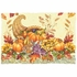 "10"" x 14"" Burnt Edge Fall Bounty Paper Placemats 1000 ct"