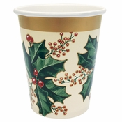 Winter Holly Cups 300 ct