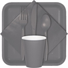 Glamour Gray Party Supplies