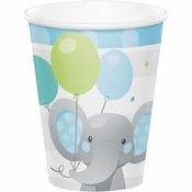 Enchanting Elephants Boy Cups 96 ct