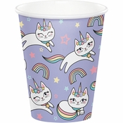 Sassy Caticorn Cups 96 ct