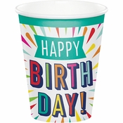 Birthday Burst Cups 96 ct